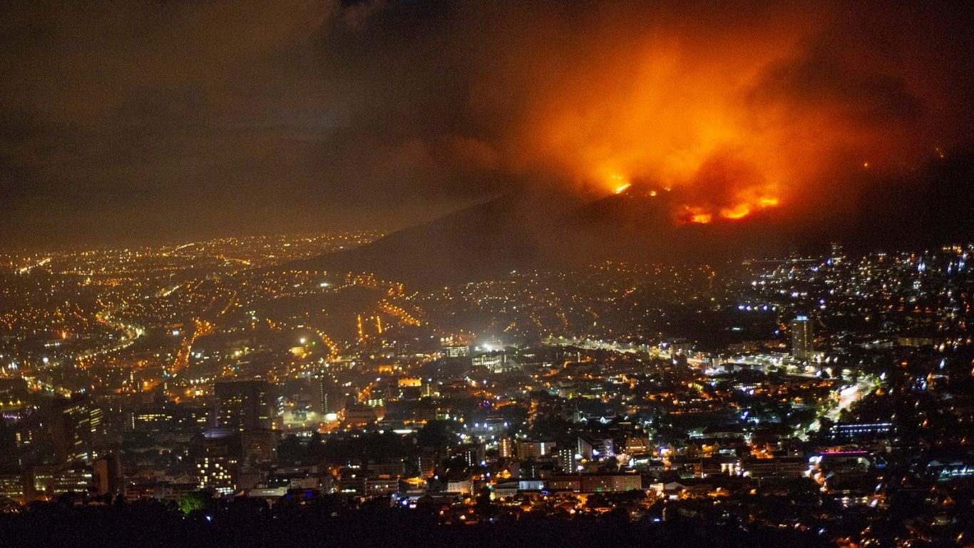TIME IS OF THE ESSENCE! Devastating FIRE threatens survival of last 50 or 60 remaining Cape Town caracals! 4