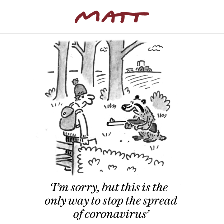 Cartoon Illustrated by Matt Pritchett - Telegraph Cartoonist 3